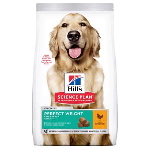 Hills Science Plan Perfect Weight Large Chicken Hundefoder 12 kg.