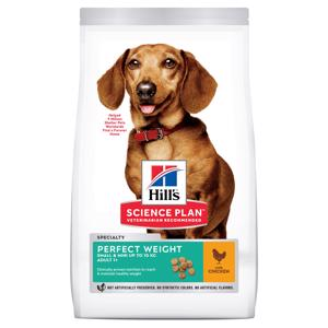 Hills Science Plan Perfect Weight Small Chicken Hundefoder 1,5 kg.