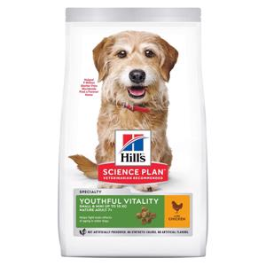 Hills Science Plan Youthful Vitality 7+ Small Chicken Hundefoder 1,5 kg.