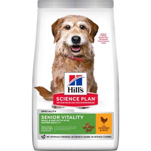 Hills Science Plan Youthful Vitality 7+ Small Chicken Hundefoder 6 kg.