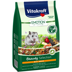 Vitakraft Emotion Beauty Selction All Ages Dværghamsterfoder 300 g.