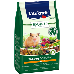 Vitakraft Emotion Beauty Selction Alle Ages Hamsterfoder 600 g.